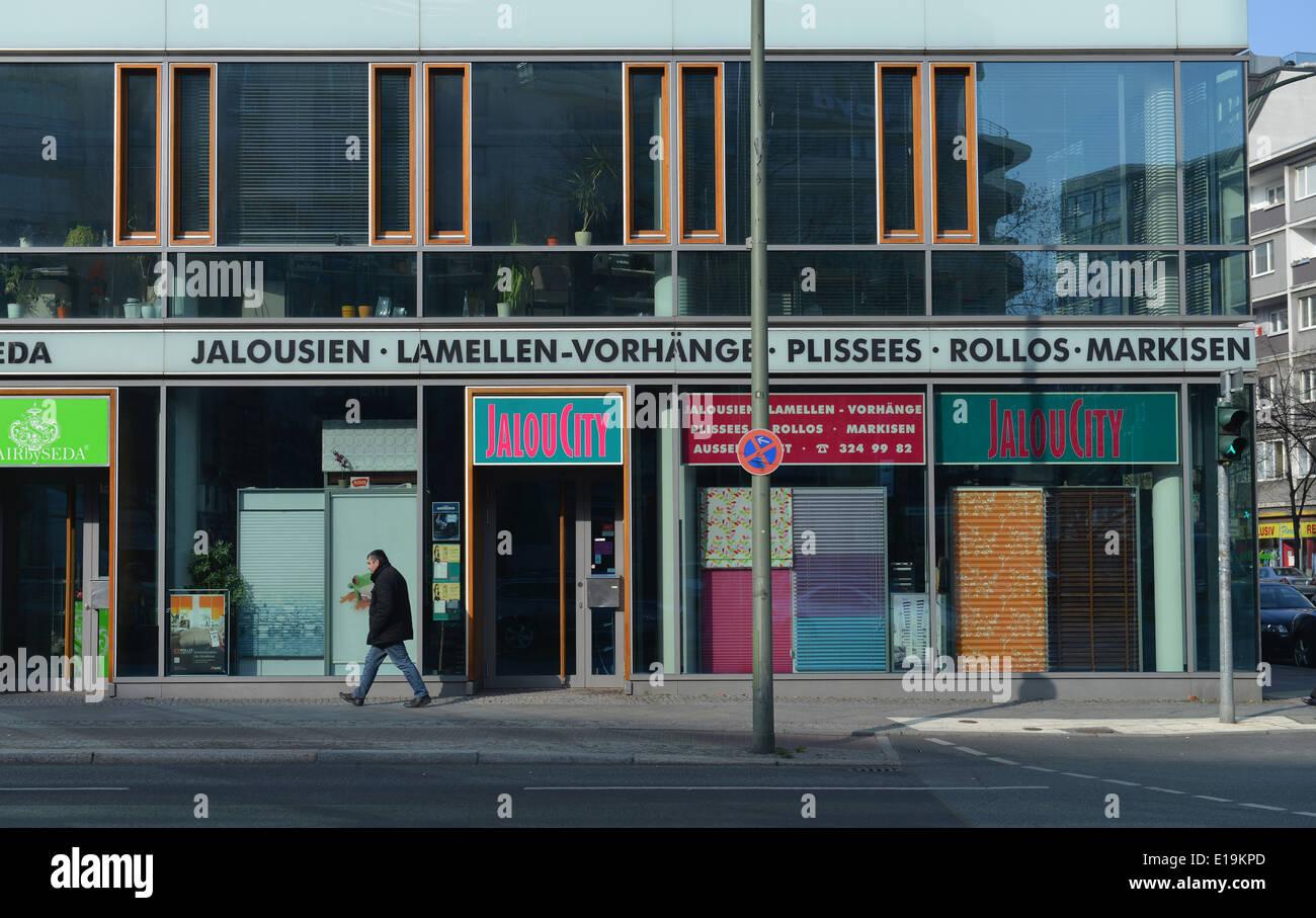 Magnificent Rollos Berlin Collection Of Jalou City, Joachimstaler Strasse, Wilmersdorf, Berlin, Deutschland