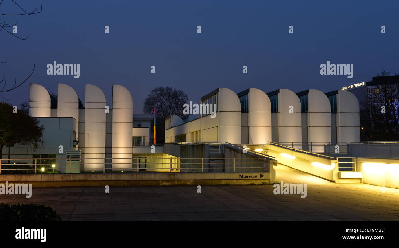Bauhausarchiv, Museum fuer Gestaltung, Klingelhoeferstrasse, Tiergarten, Berlin, Deutschland / Klingelhöferstraße - Stock Image