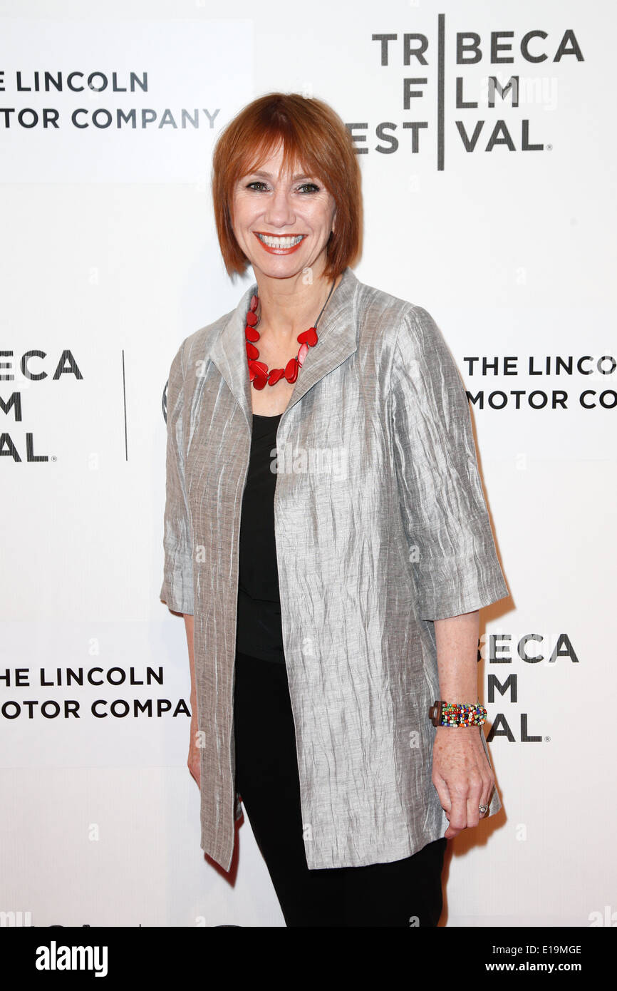 Actress Kathy Baker attends the 'Boulevard' premiere at the BMCC TriBeCa PAC during the 2014 TriBeCa Film Festival. - Stock Image