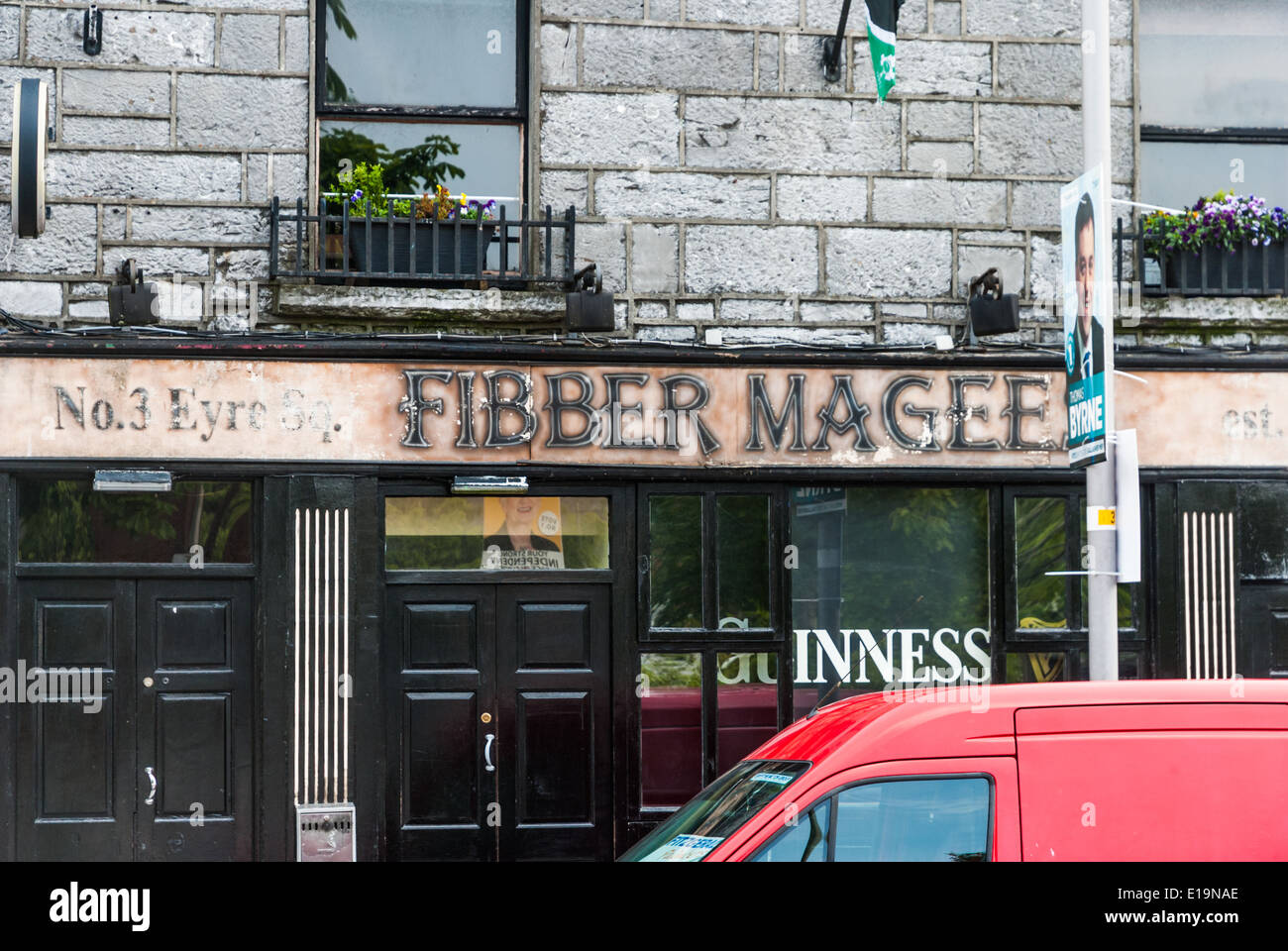 Fibber Magee's - Stock Image