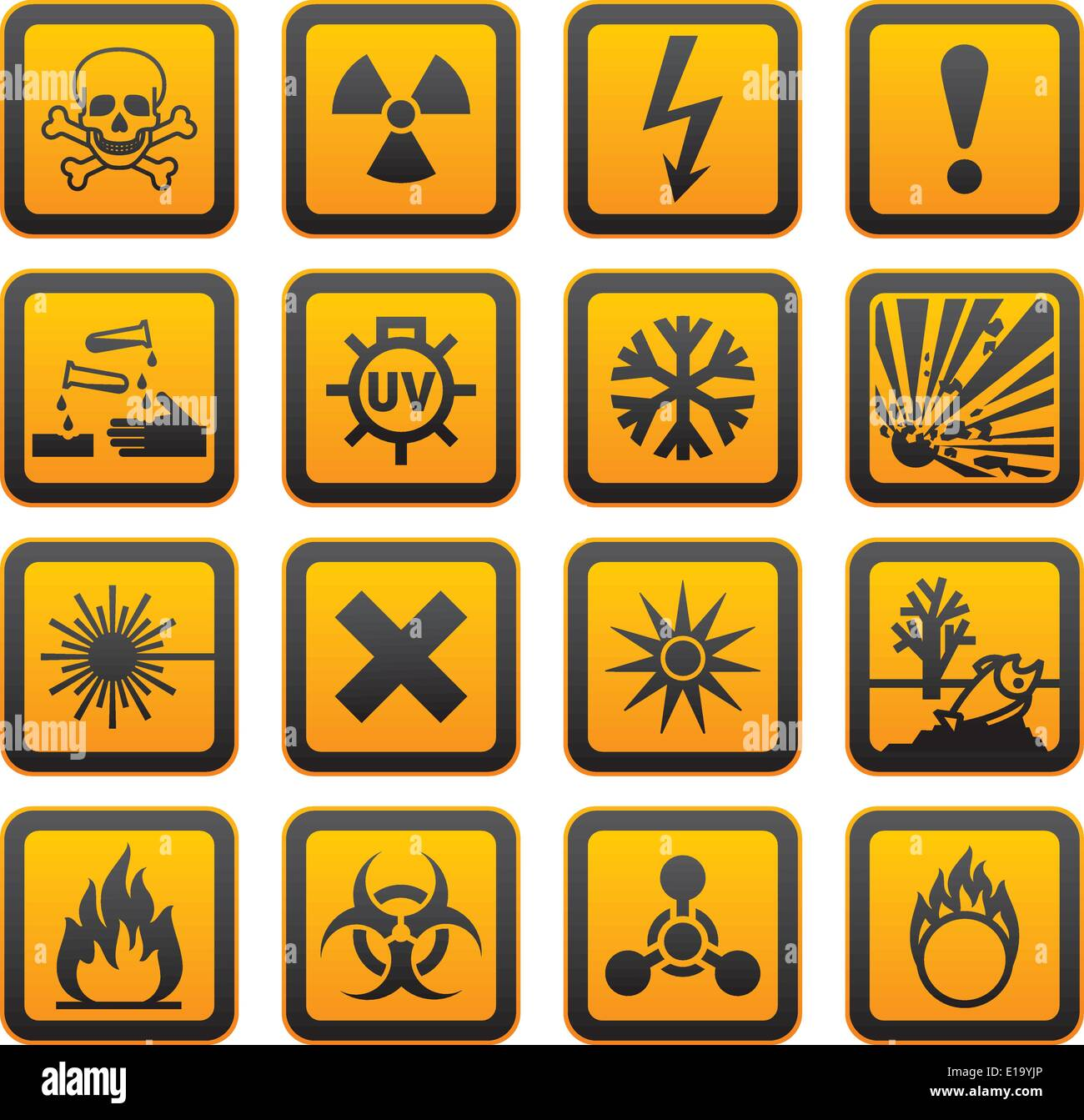 Biological Hazard Symbols Stock Photos Biological Hazard Symbols