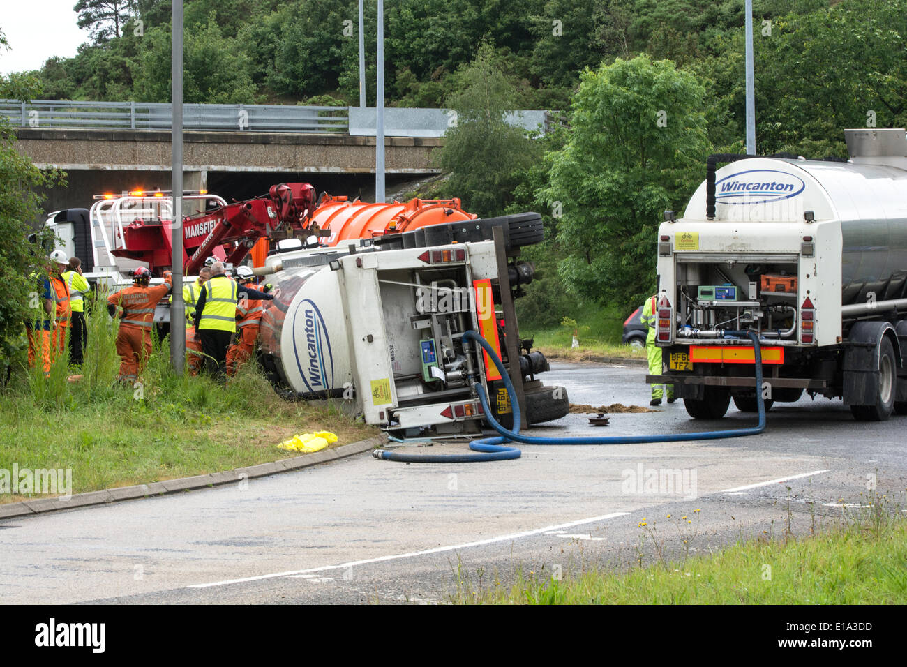 Motorway Incident Stock Photos & Motorway Incident Stock Images - Alamy