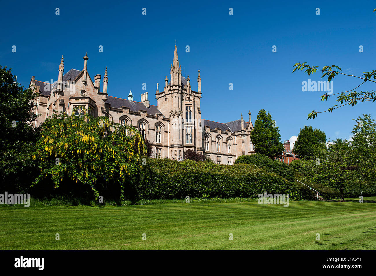 University of Ulster, Magee Campus, Derry, Londonderry, Northern Ireland - Stock Image