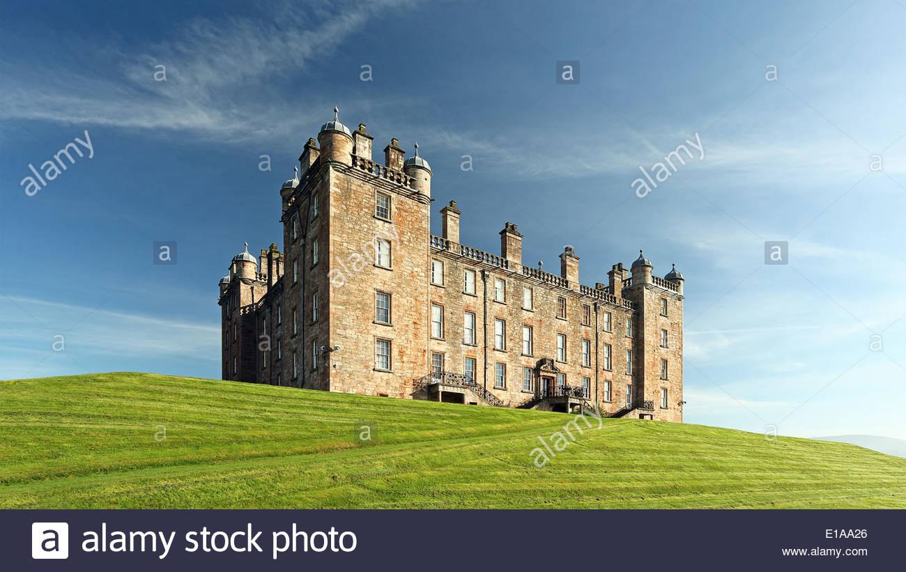 Drumlanrig Castle - Stock Image