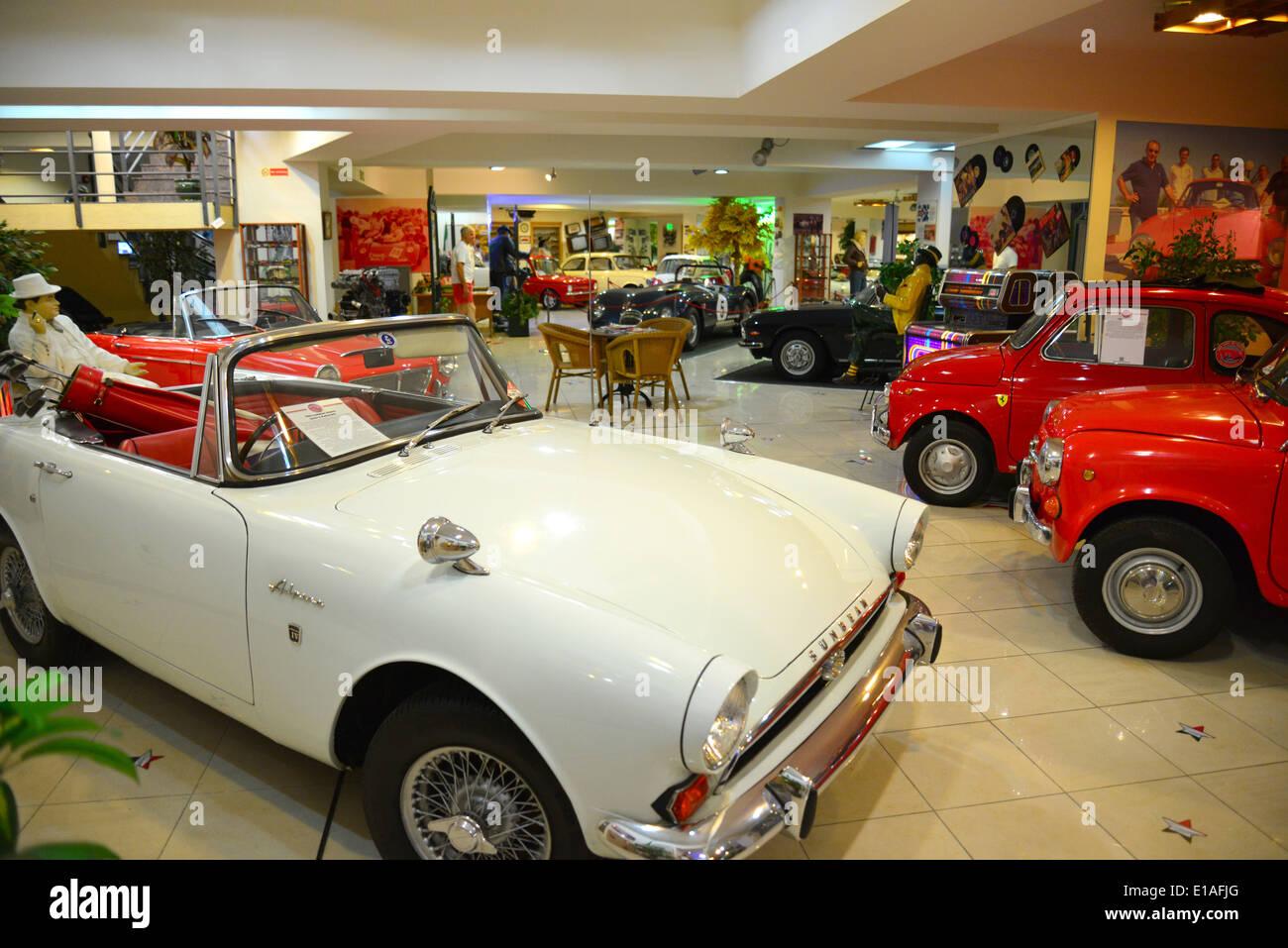 Sunbeam Alpine Car Malta Classic Car Museum Qawra Saint Paul S