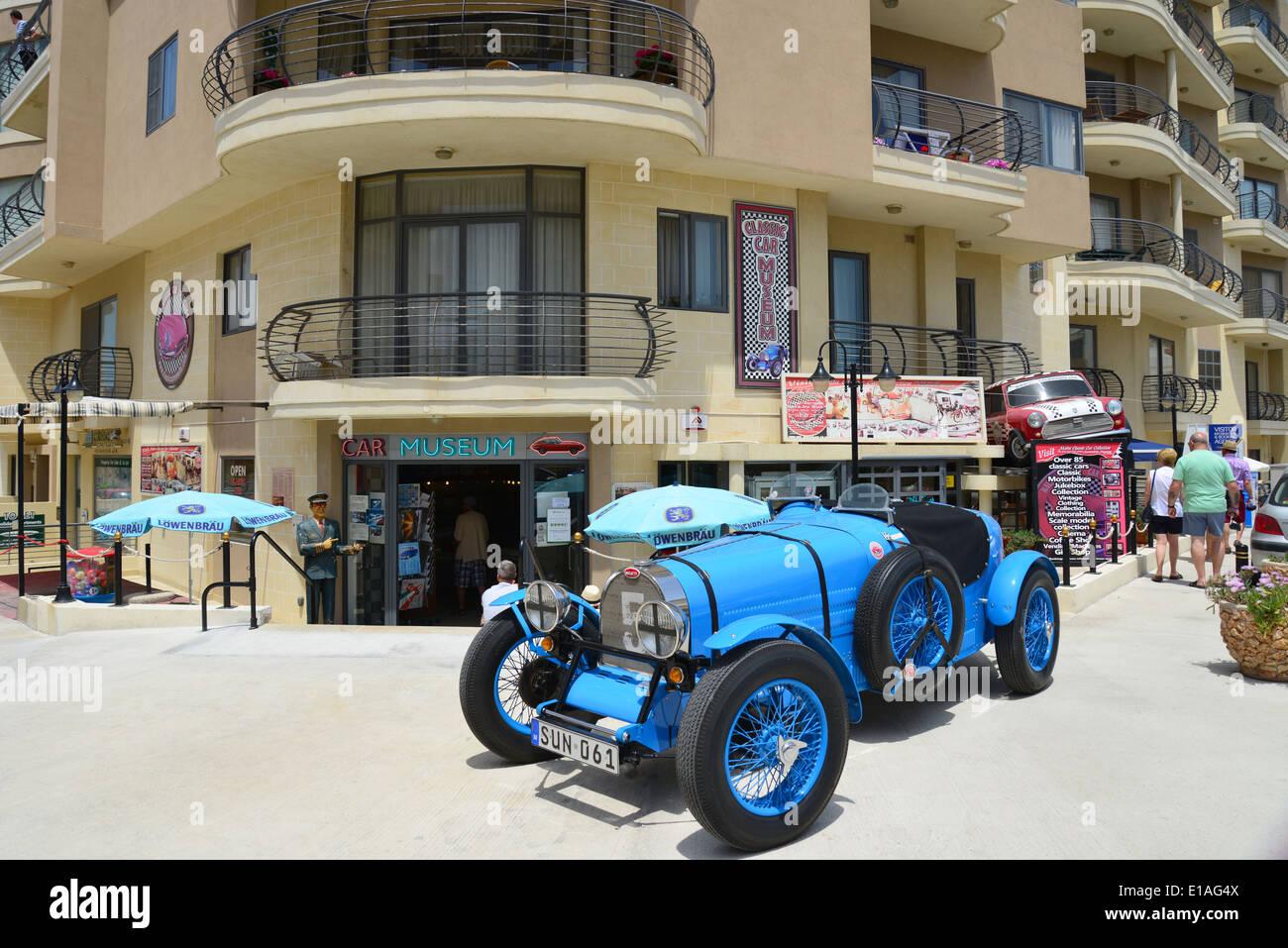 Malta Classic Car Museum, Qawra (Il-Qawra), Saint Paul\'s Bay (San ...