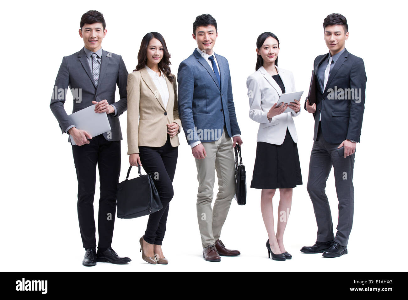 Group of successful business people Stock Photo