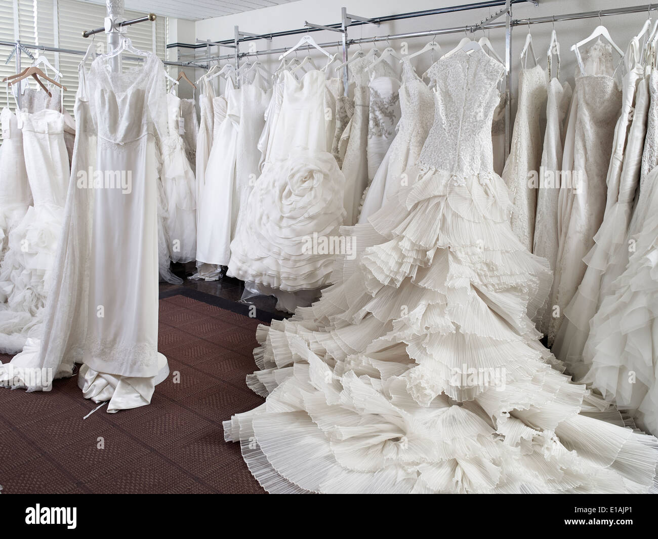 Changing Room Wedding Dress