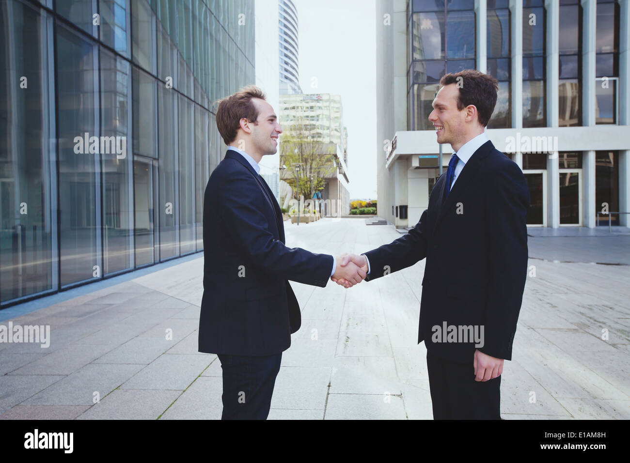 business relations - Stock Image