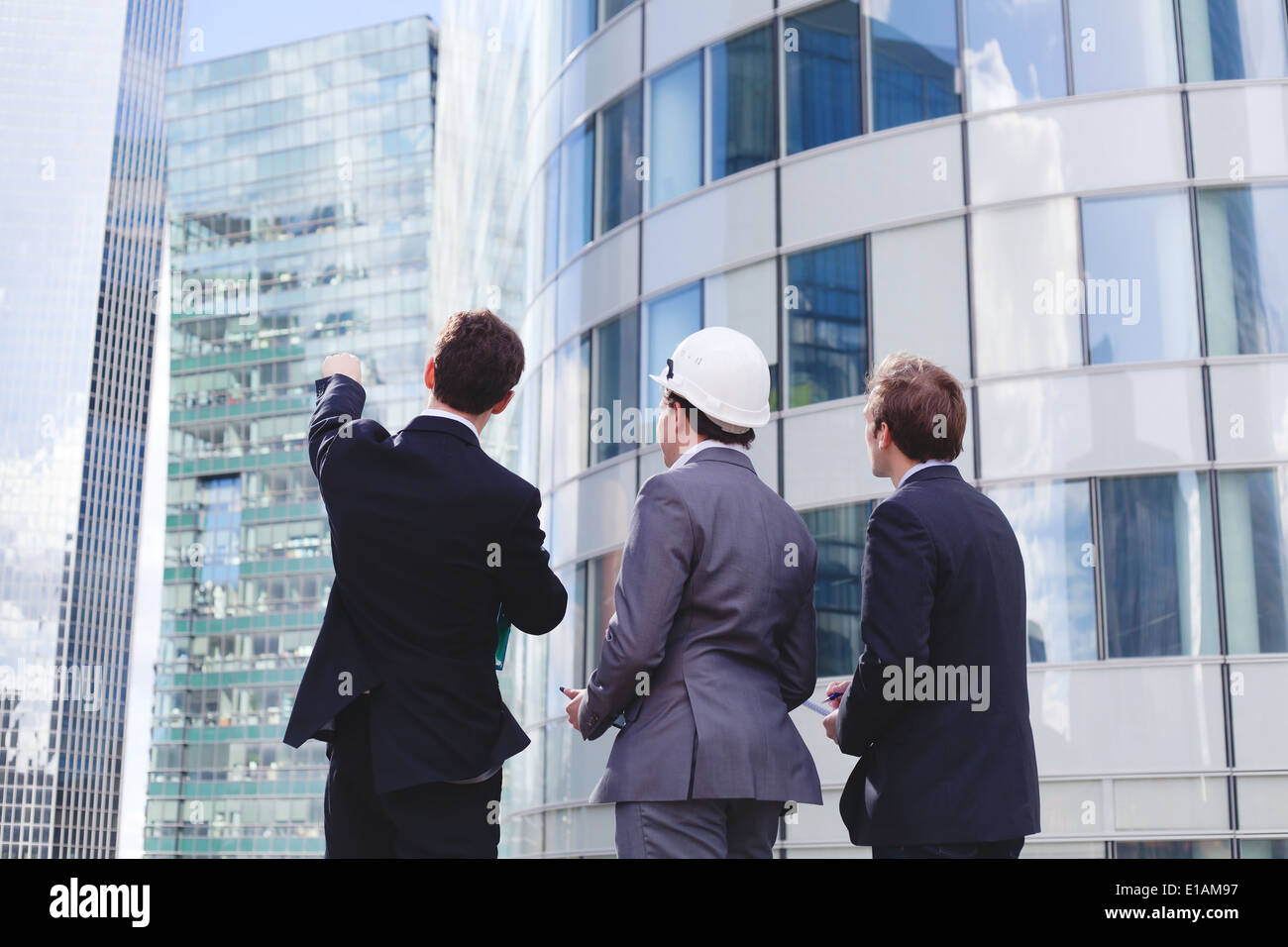 business team working on new project - Stock Image