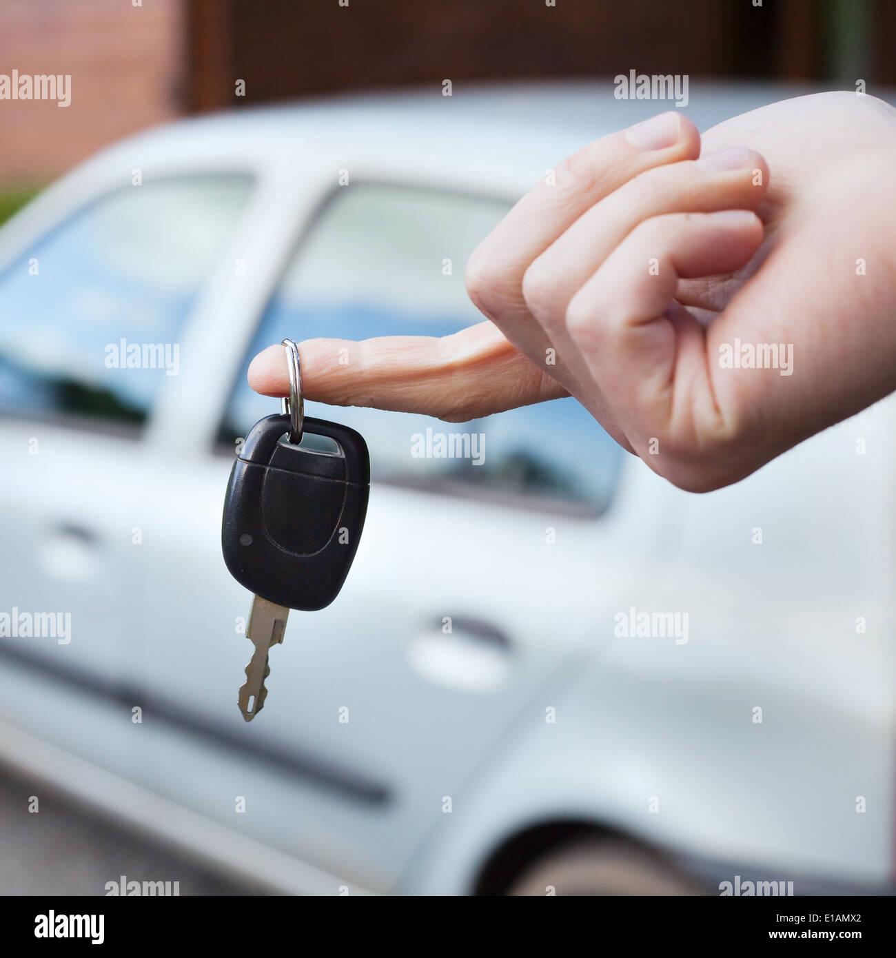rent car - Stock Image