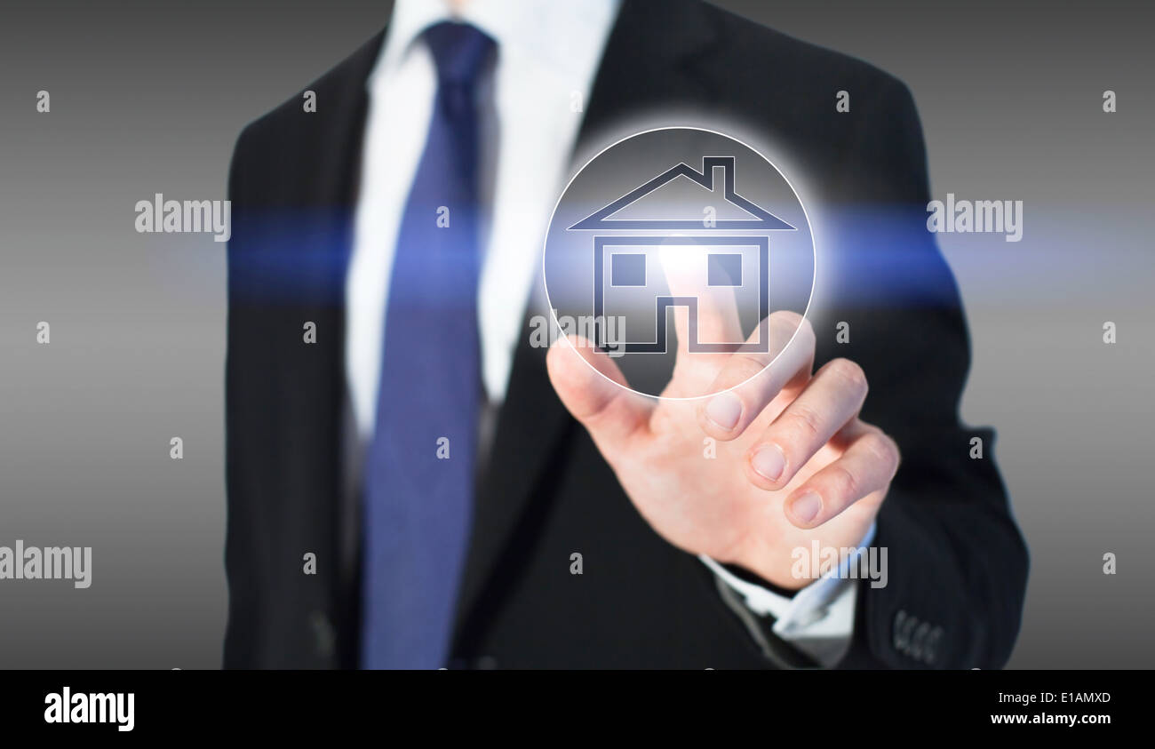 real estate online - Stock Image