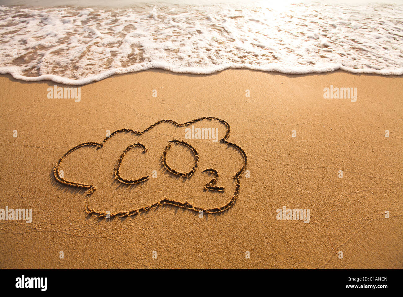CO2 concept - Stock Image