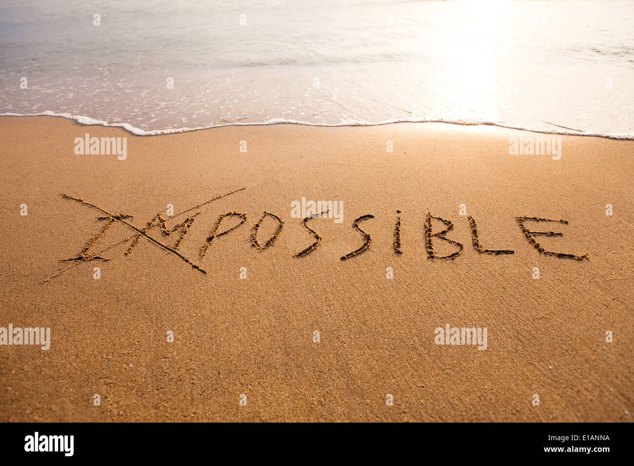 possibility concept - Stock Image