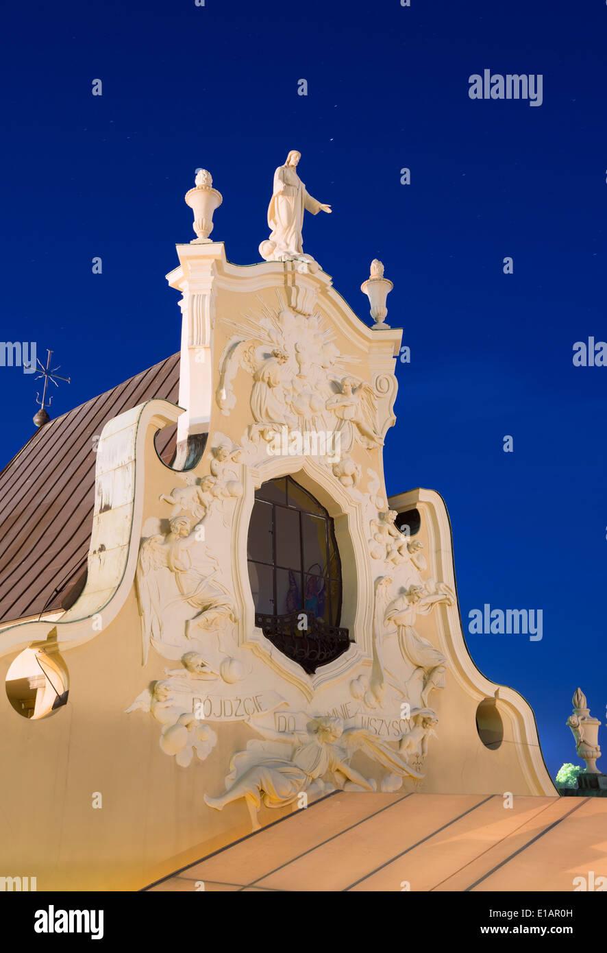 Europe, Poland, Malopolska, Czestochowa, Monastery of Jasna Gora - Stock Image