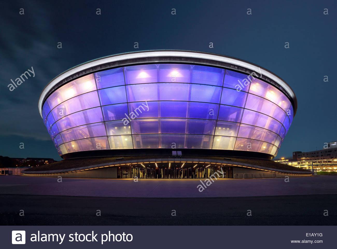 Hydro Arena Glasgow - Stock Image