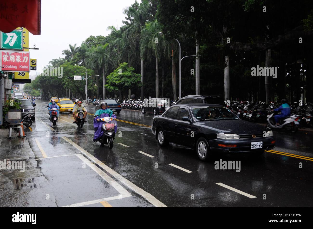 Squall,Tainan,Taiwan - Stock Image