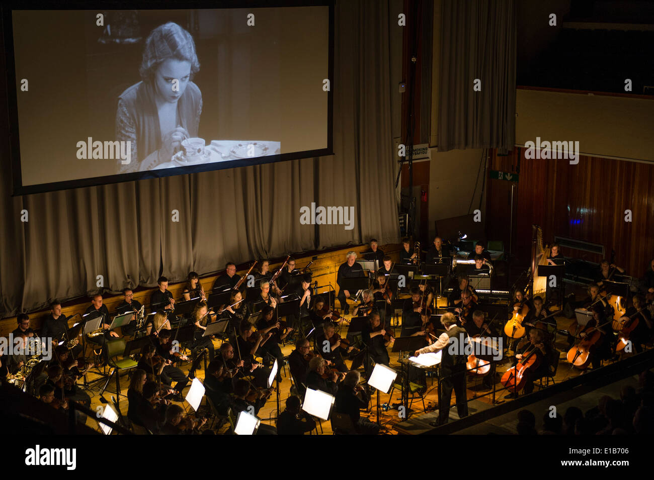Silent Movie Stock Photos & Silent Movie Stock Images - Alamy