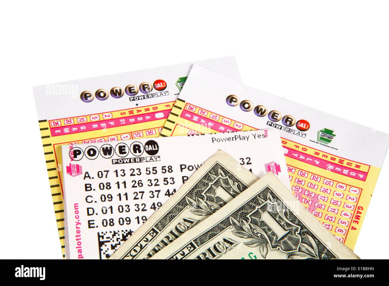 Powerball Lottery Stock Photos & Powerball Lottery Stock Images - Alamy