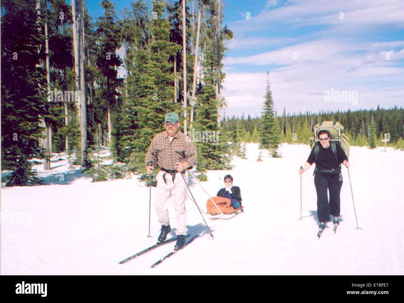 ski_trip1 Stock Photo