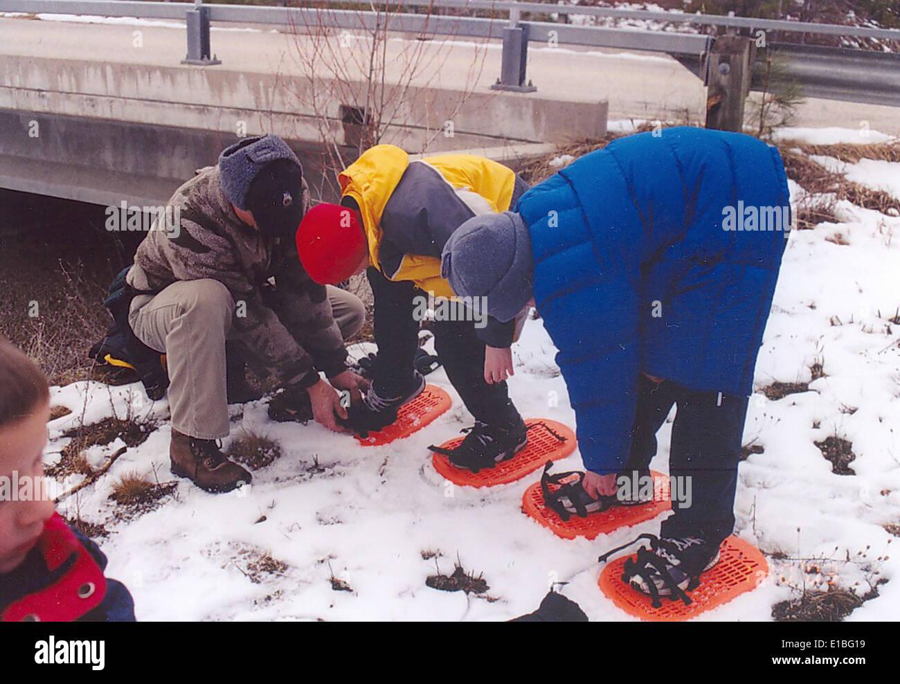 snowshoe1 Stock Photo