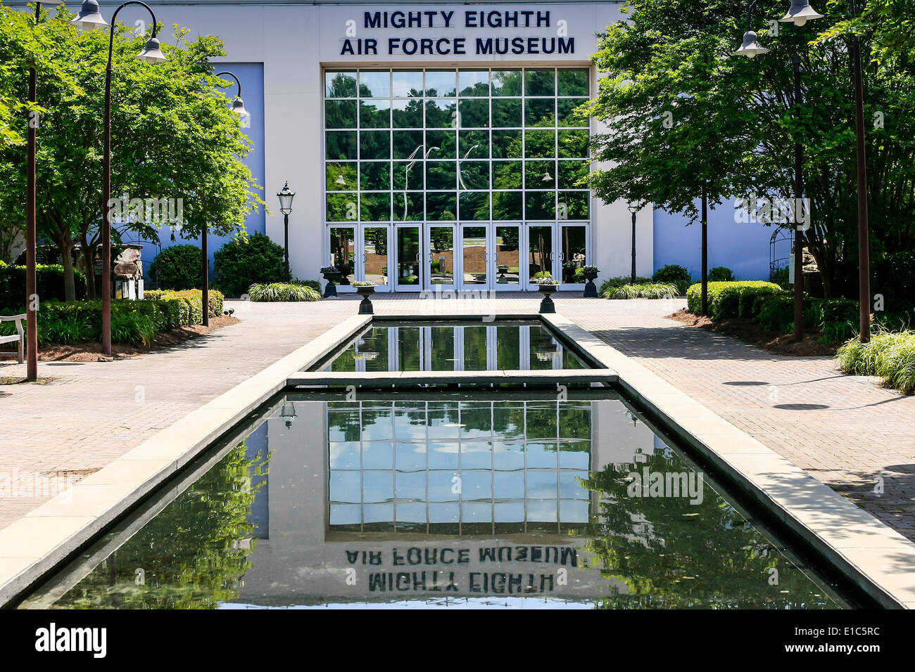 The Mighty Eighth Air Force Museum at Pooler GA - Stock Image