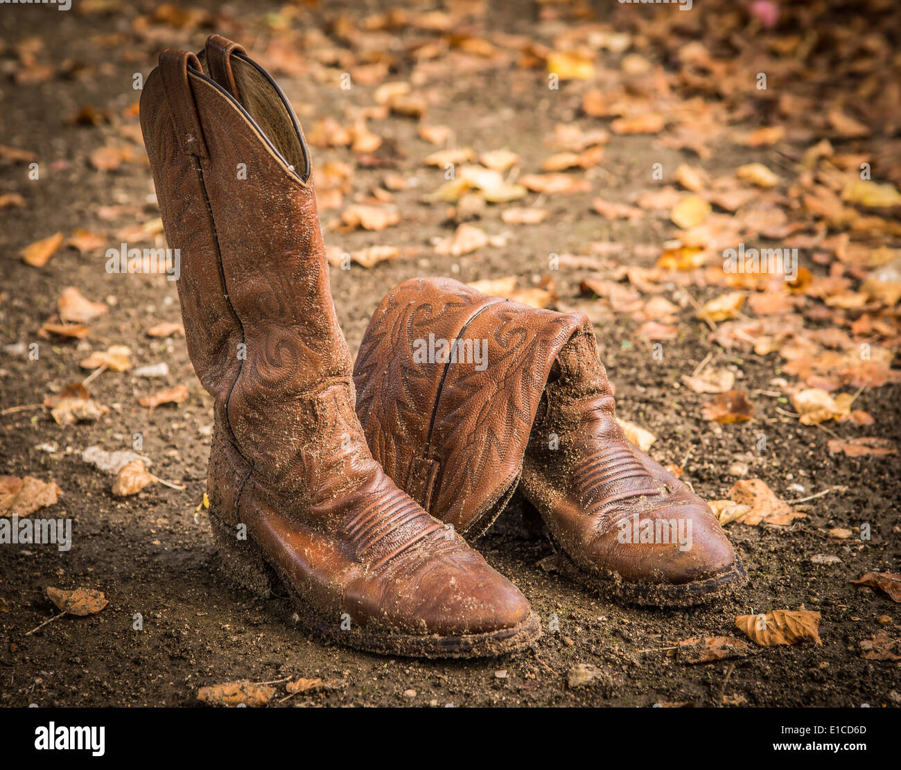 1c8e2445727 Brown Cowboy Boots Stock Photos & Brown Cowboy Boots Stock Images ...