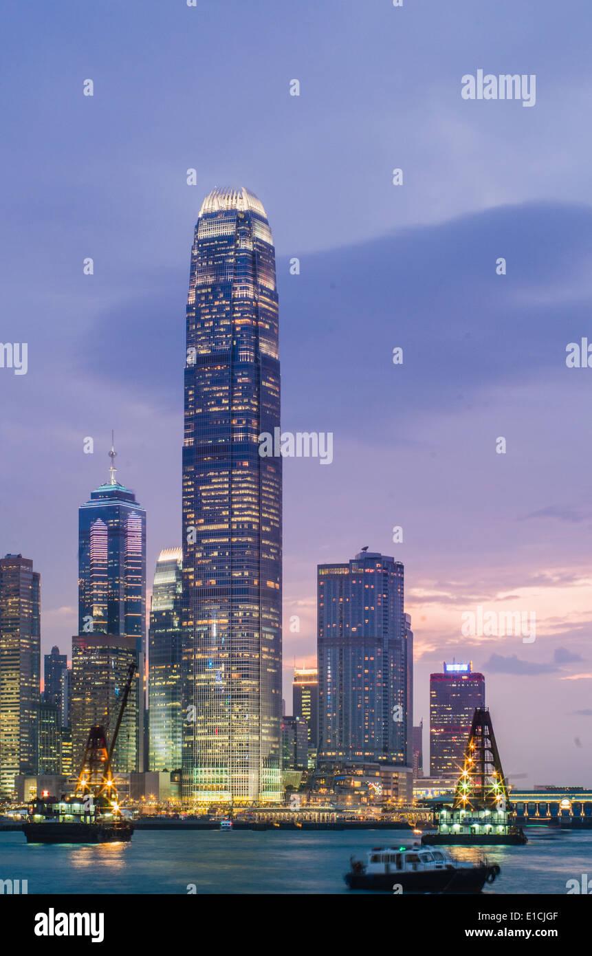 Tallest Building In Hong Kong Stock Photos  U0026 Tallest