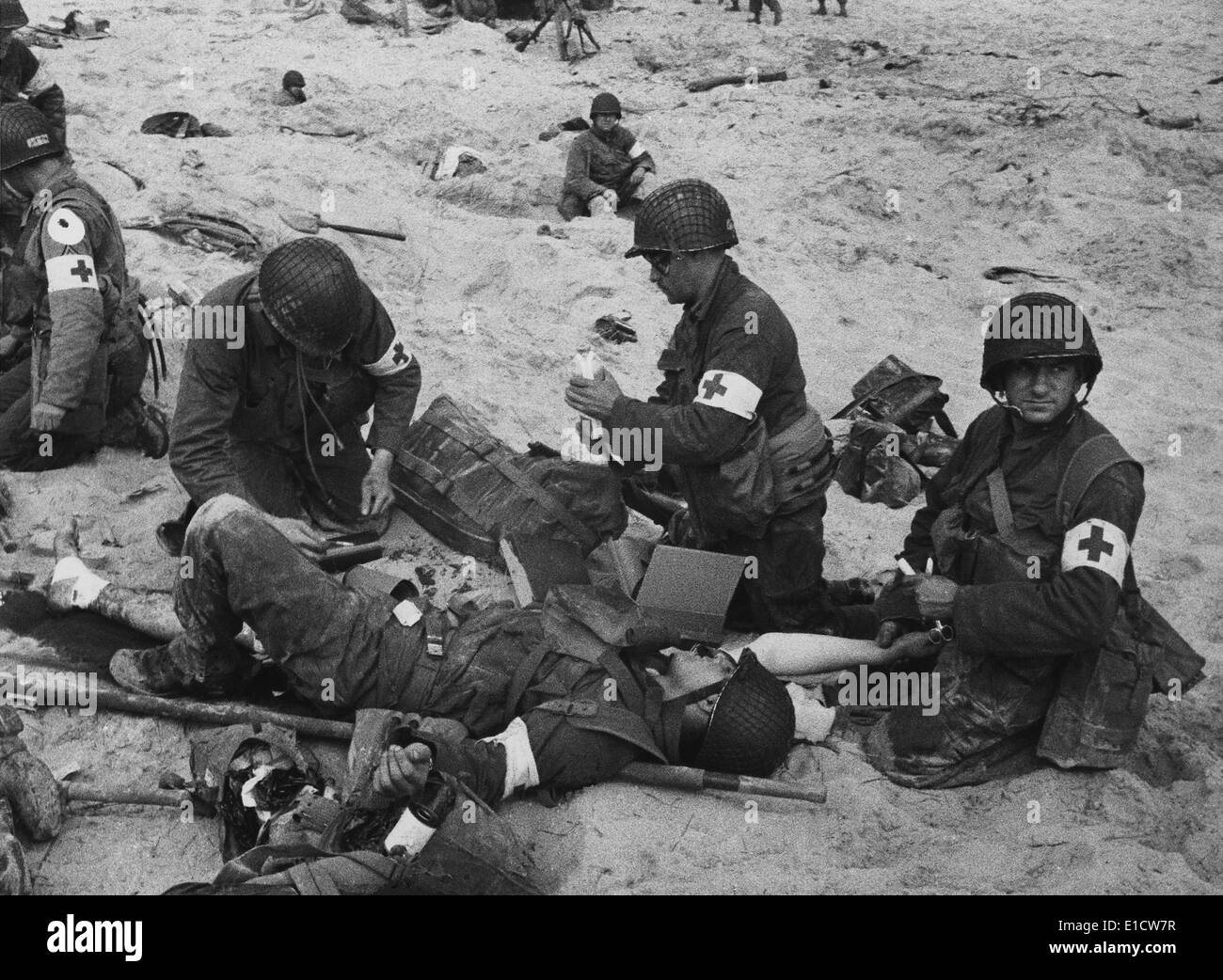 an account of events during the invasion of normandy in 1944 4 beach landings in normandy were chosen instead of the  11 in may 1944  crucial codewords for d-day began appearing in daily telegraph.