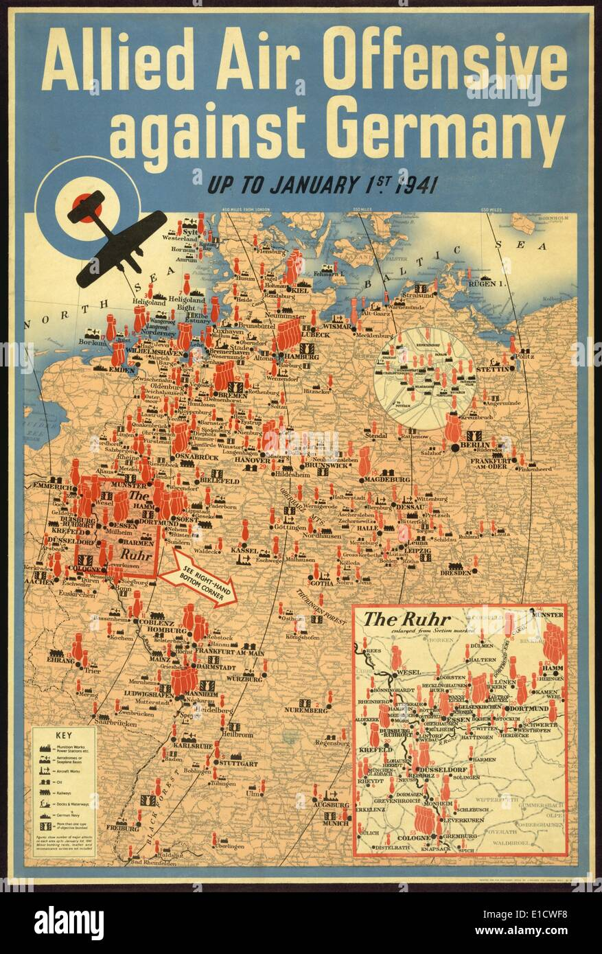Map Of Germany During World War 2.World War Ii Map Stock Photos World War Ii Map Stock Images Alamy