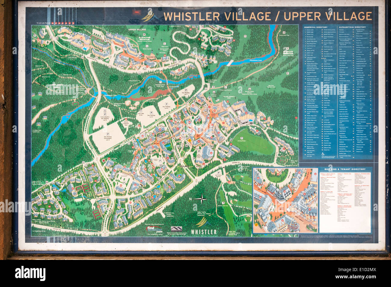 Elk203 1095 canada british columbia whistler town map stock photo elk203 1095 canada british columbia whistler town map gumiabroncs Gallery