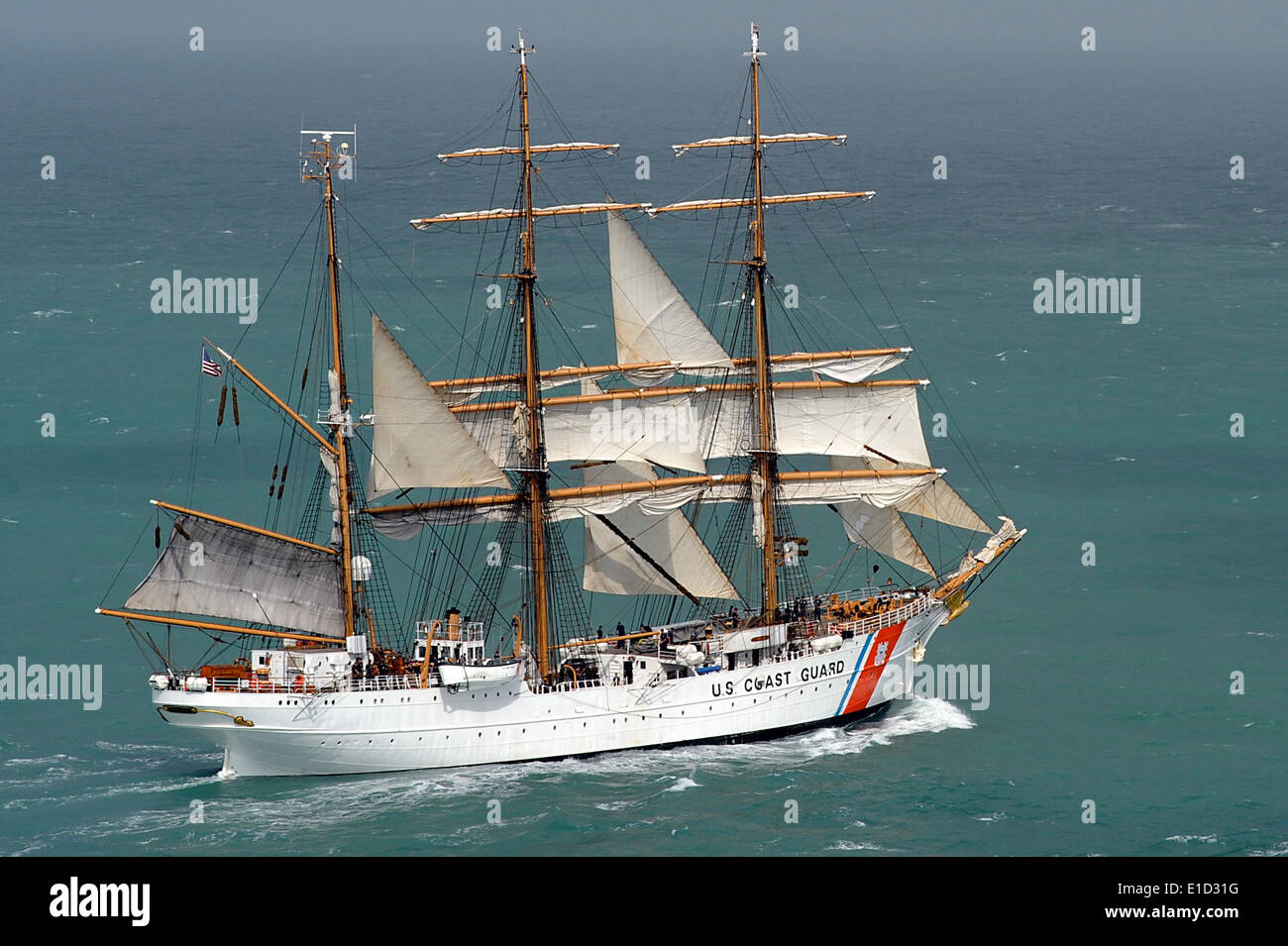 2 327 Stock Photos Images Alamy Ships Tall Google Search Book Covers Diagrams Bloody The Crew Aboard Uscgc Eagle Wix Takes In Sails