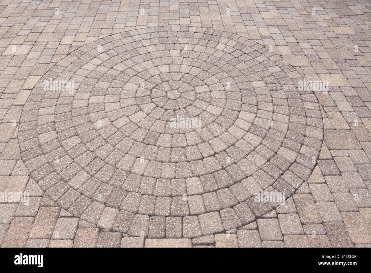 Architectural Background Of An Ornamental Pattern In Outdoor Patio