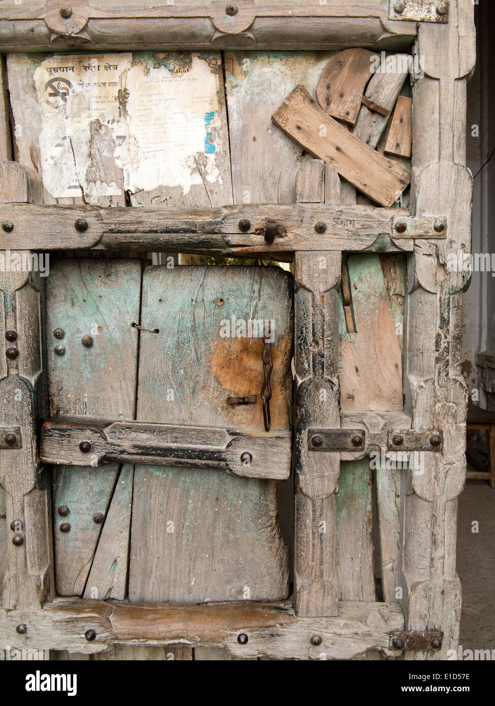 Old Indian Wooden House Doors Stock Photos Amp Old Indian