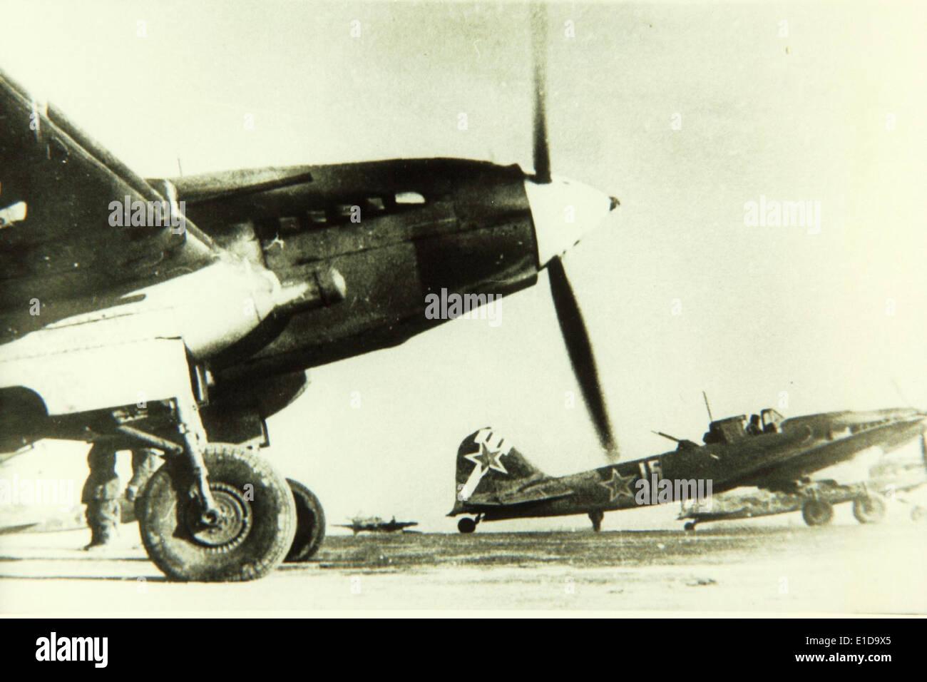 Ilyushin, Il-2, Shturmovik Stock Photo