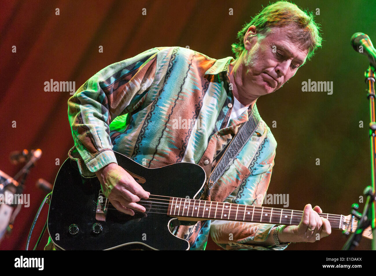 Steve Winwood was one of the highlights of 2013 Glastonbury Festival. - Stock Image