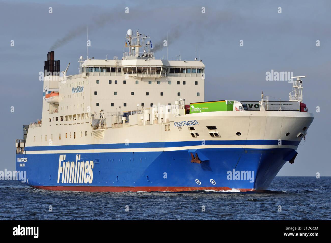 Finntrader inbound Lübeck - Stock Image