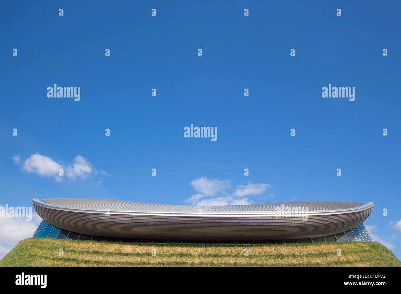 London Aquatics Centre, Queen Elizabeth Olympic Park, London 2012 - Stock Image