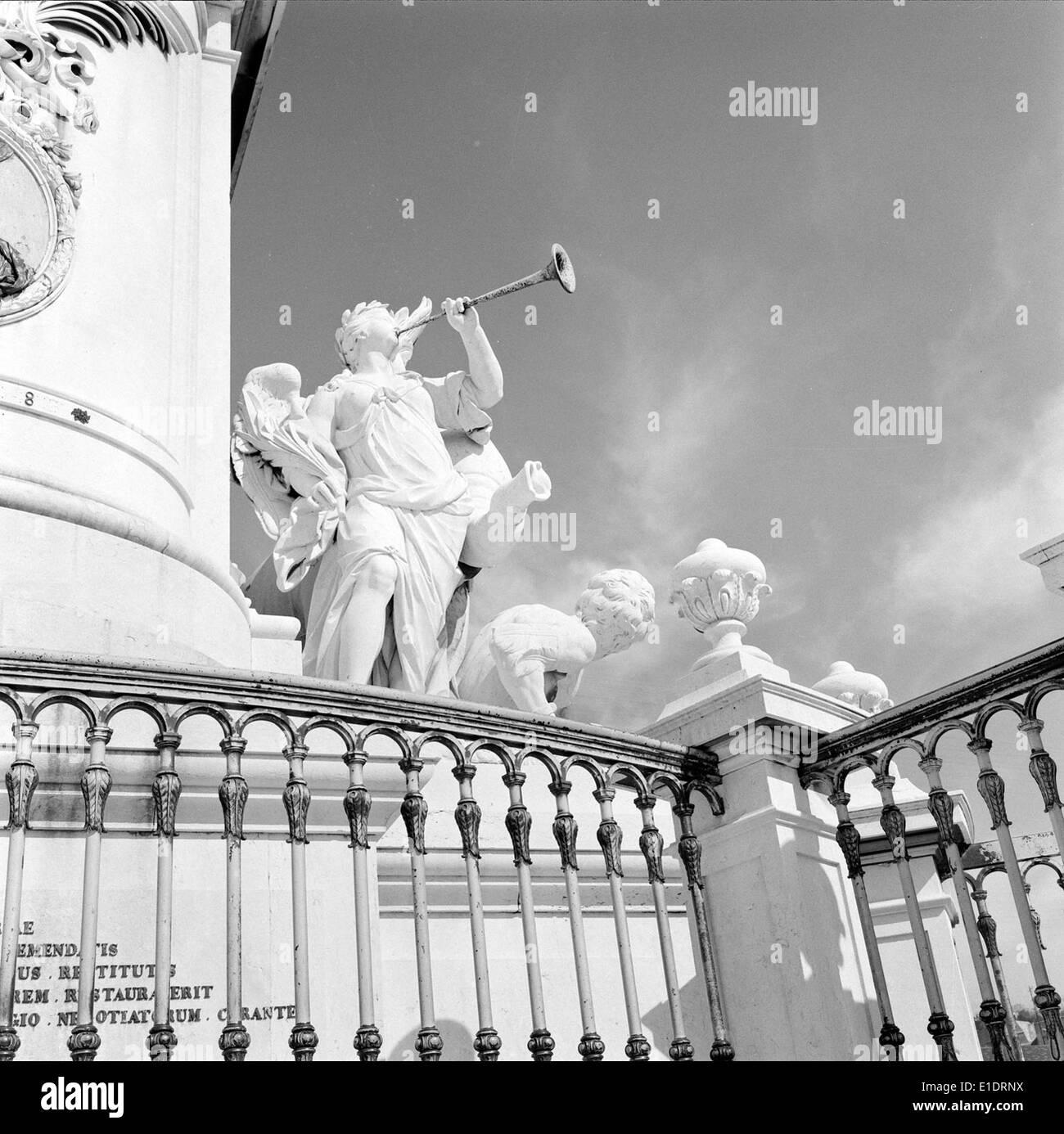 Estátua Equestre de D.José I, Lisboa, Portugal - Stock Image