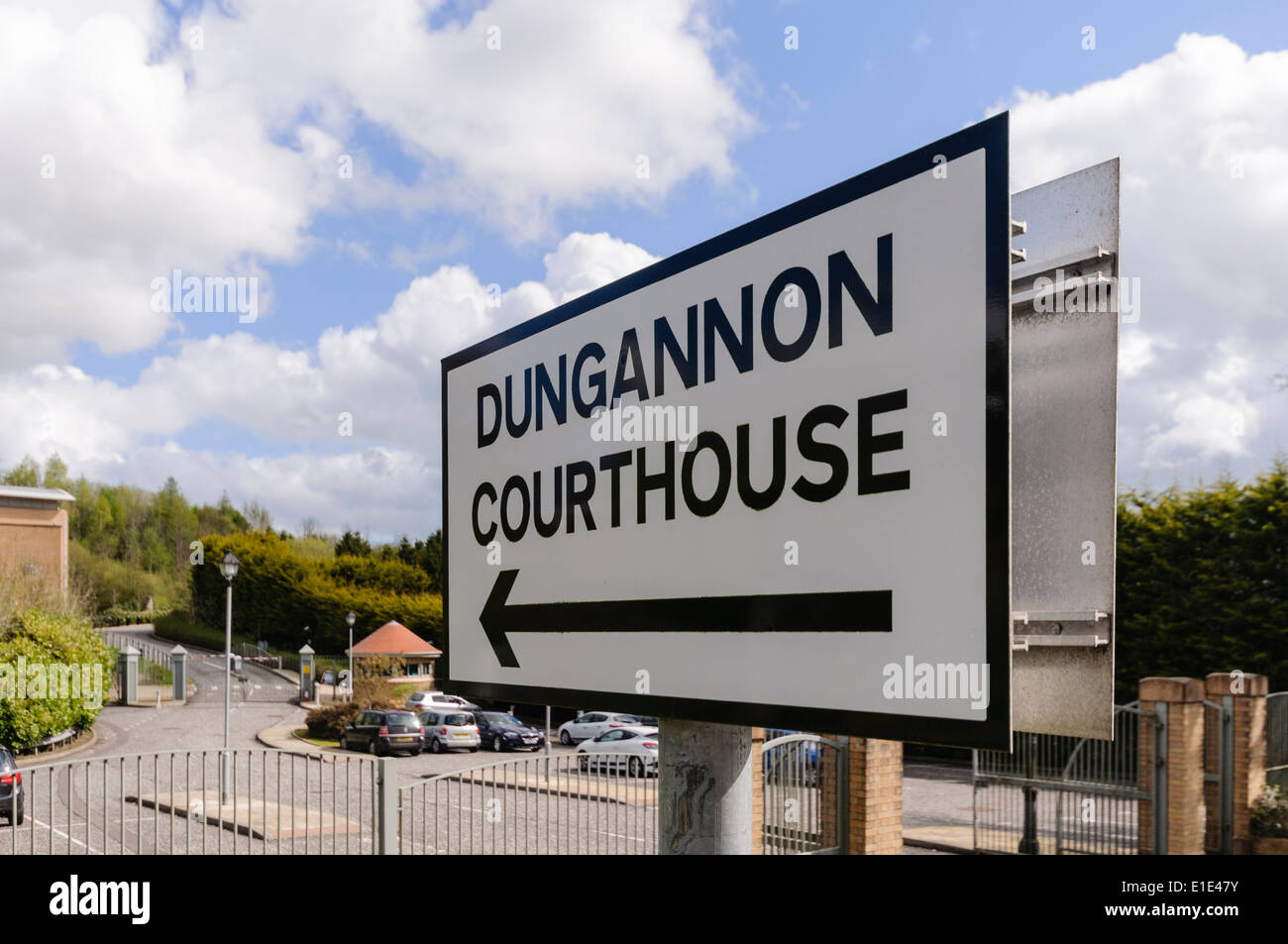 Dungannon Courthouse - Stock Image