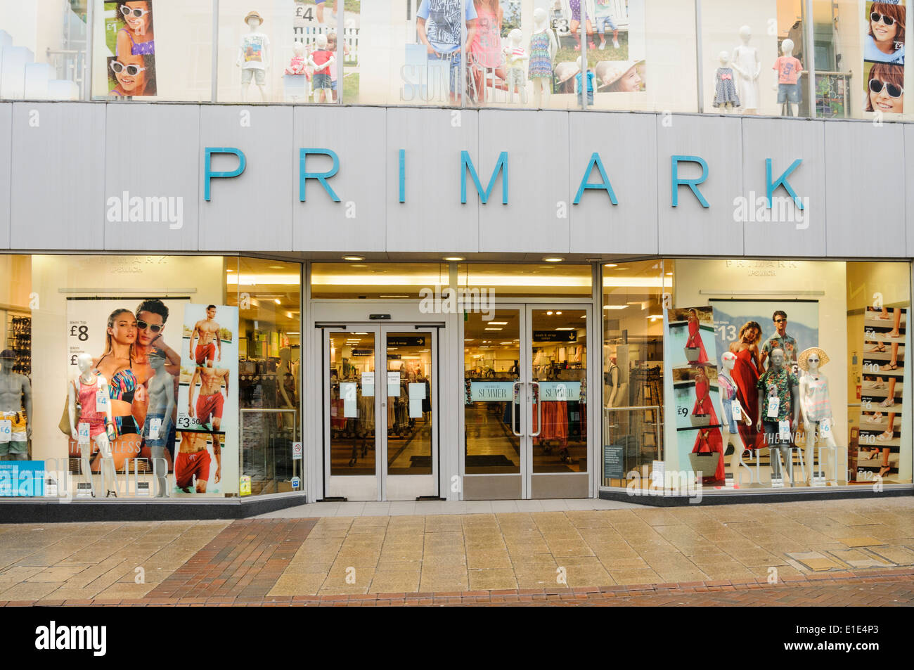 Primark store front - Stock Image