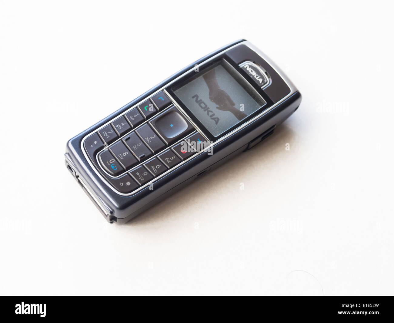 Nokia 6230 GSM Bluetooth Mobile Phone - Stock Image