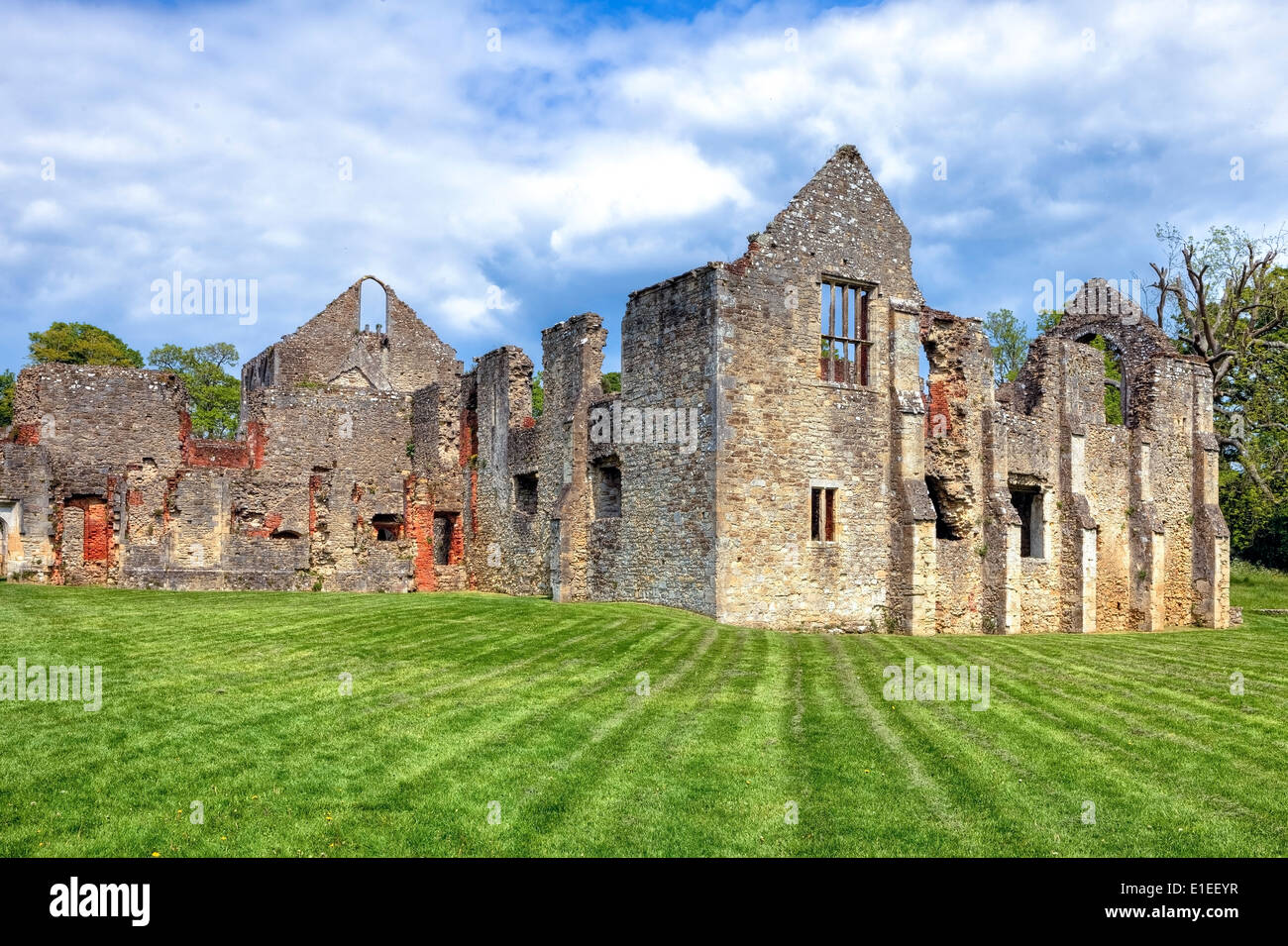 Netley Abbey, Southampton, England, United Kingdom Stock Photo