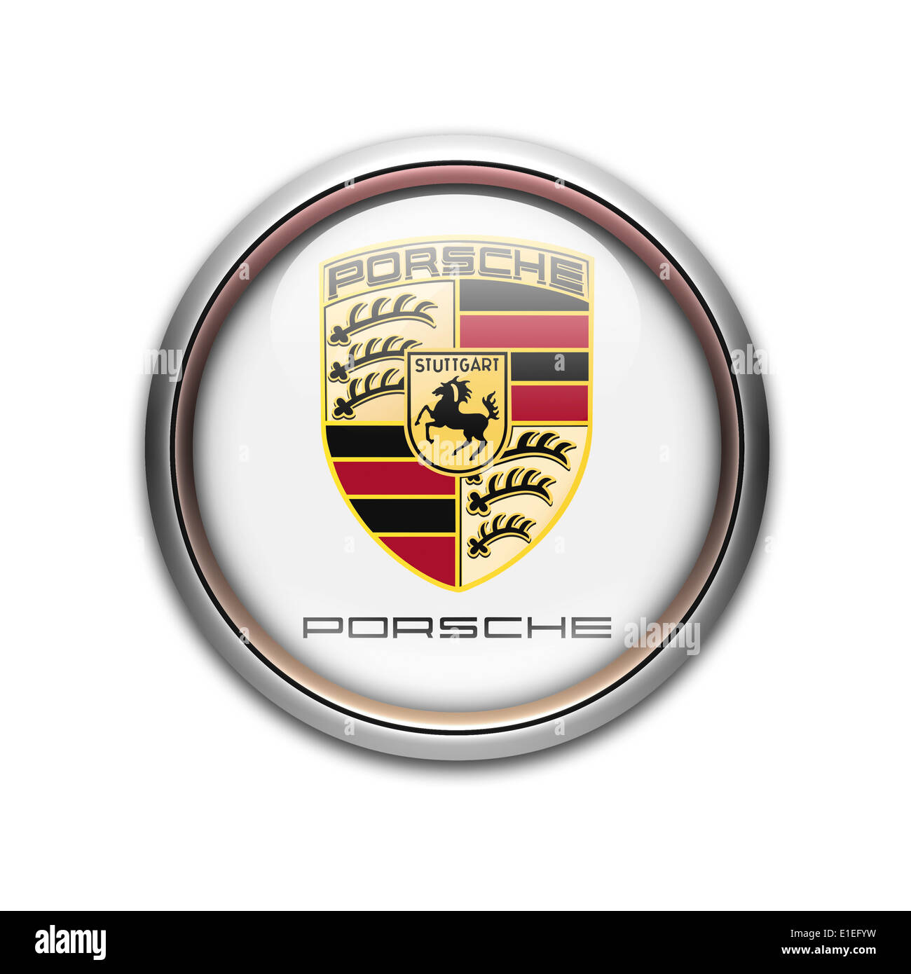 Porsche Logo Stock Photos Amp Porsche Logo Stock Images Alamy