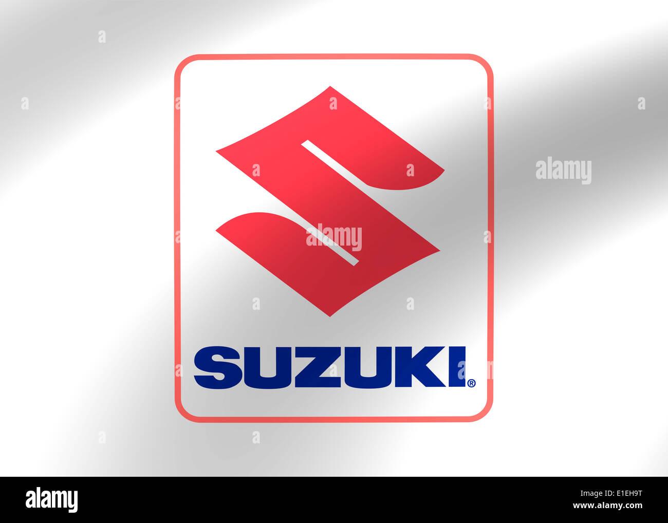 Suzuki Logo Icon Symbol Emblem Flag Stock Photo 69777060 Alamy