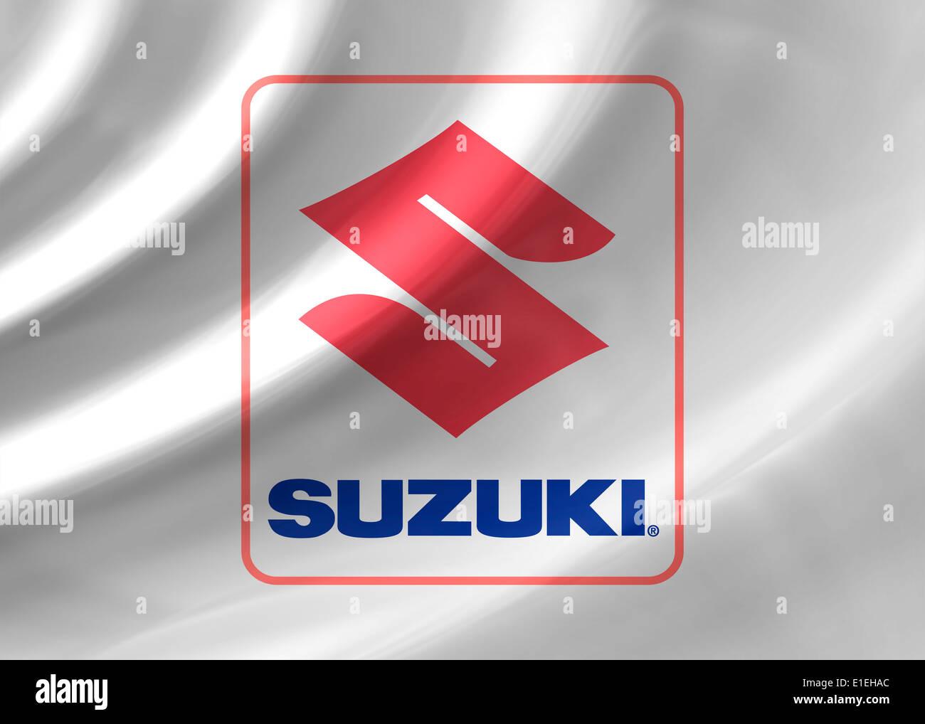 Suzuki Logo Icon Symbol Emblem Flag Stock Photo 69777076 Alamy