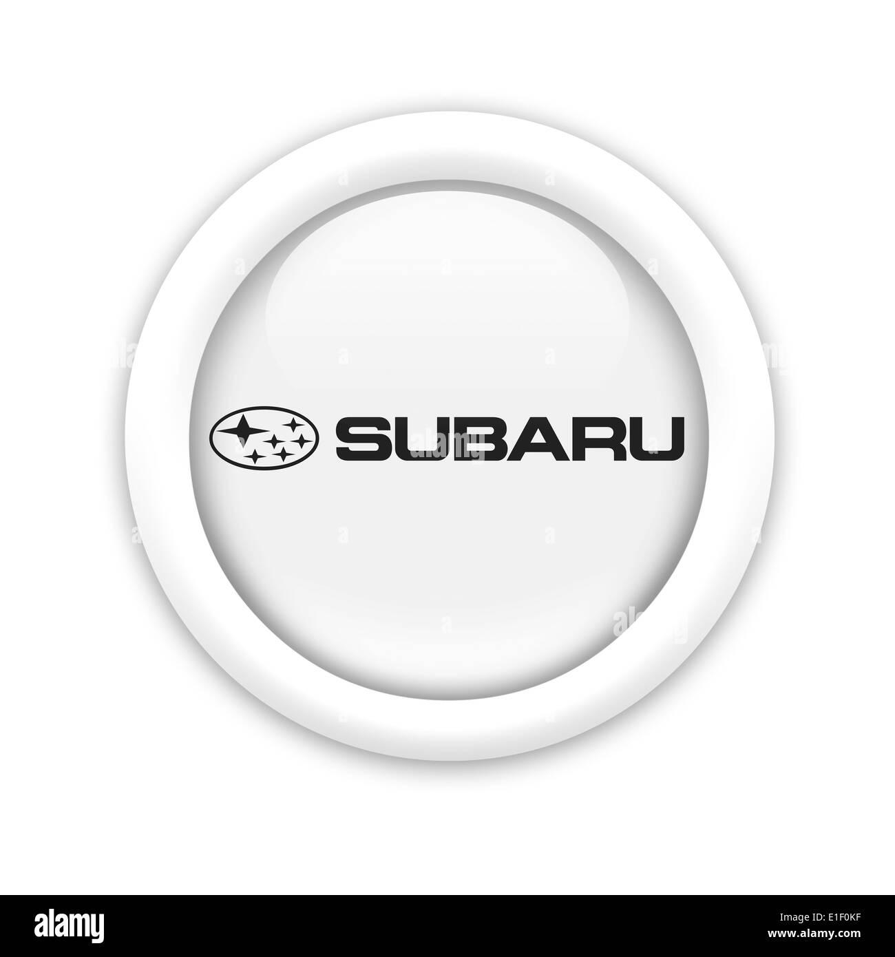 Subaru Logo Icon Flag Emblem Symbol Stock Photo 69785955 Alamy