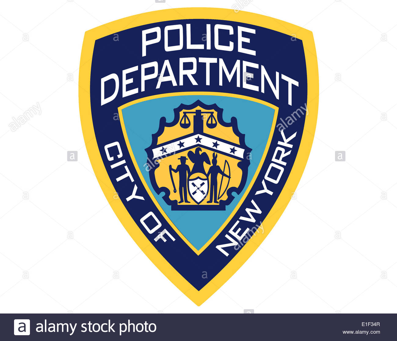 nypd new york police department icon logo isolated app