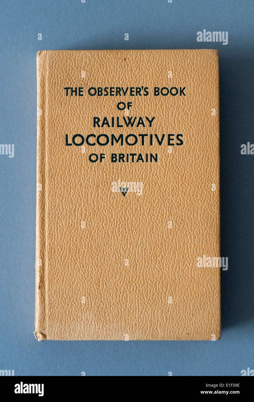 The Observer`s Book of Railway Locomotives of Britain Stock Photo