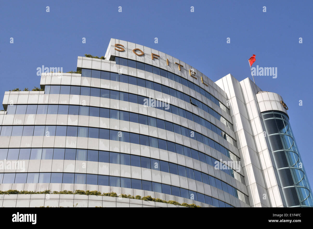 hotel Sofitel on Remain square Xi'an China - Stock Image